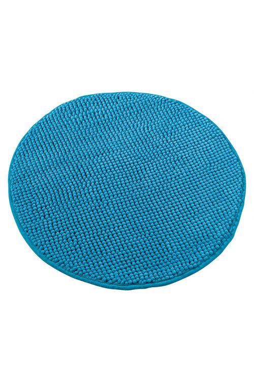 Tepih za kopalnico Camargue Zottel (Ø 55 cm, turkizen, mikrovlakna)