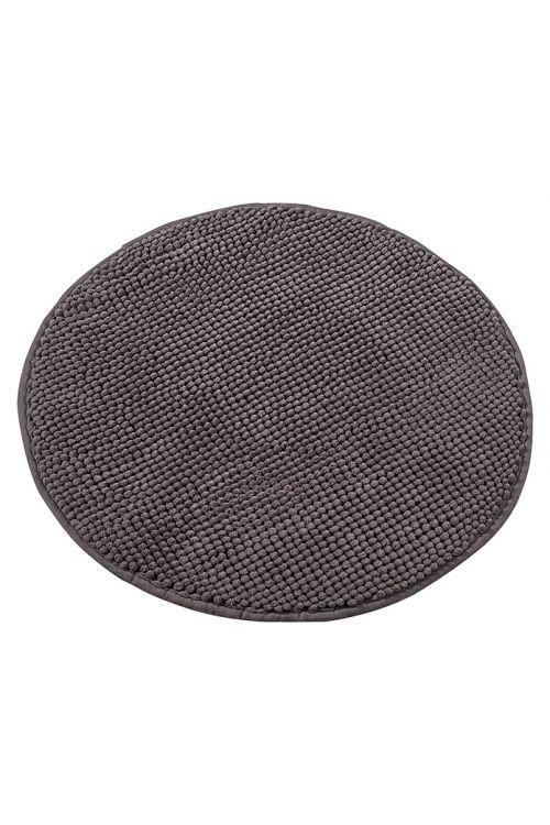 Tepih za kopalnico Camargue Zottel (Ø 55 cm, rjav, mikrovlakna)