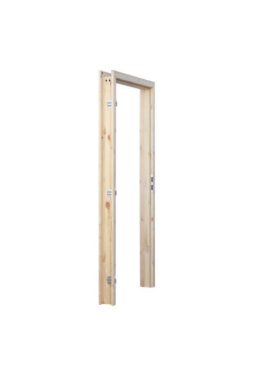Podboj leseni (2000 x 700 x 100/114 mm, smreka, levi)
