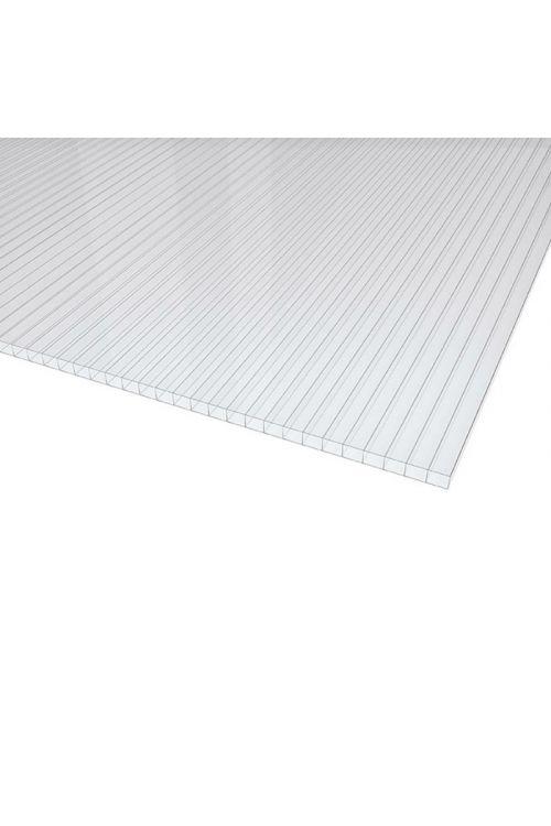 Polikarbonatna plošča XL (200 x 105 cm, debelina 4 mm, prozorna)