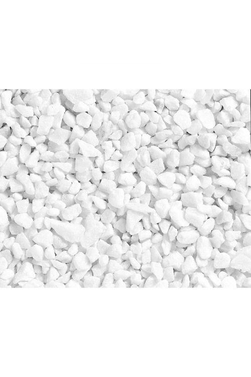 Dekorativni prod Bianco Carrara (15–25 mm, 25 kg, beli)
