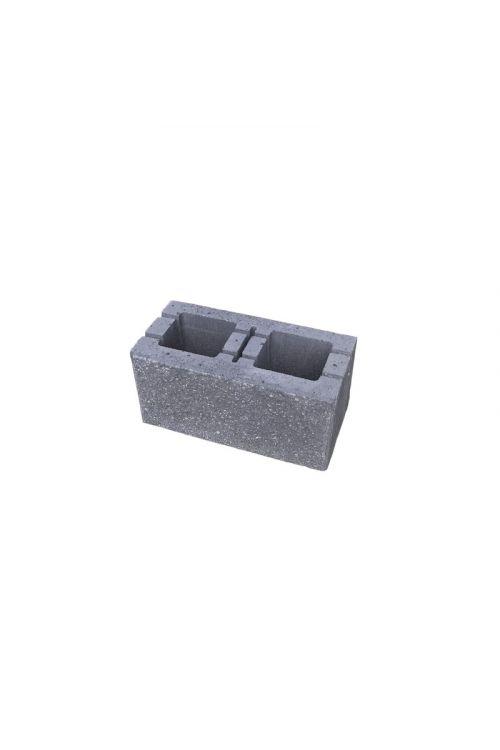 Enostranski lomljen zidak (200 x 400 x 190 mm, siva)