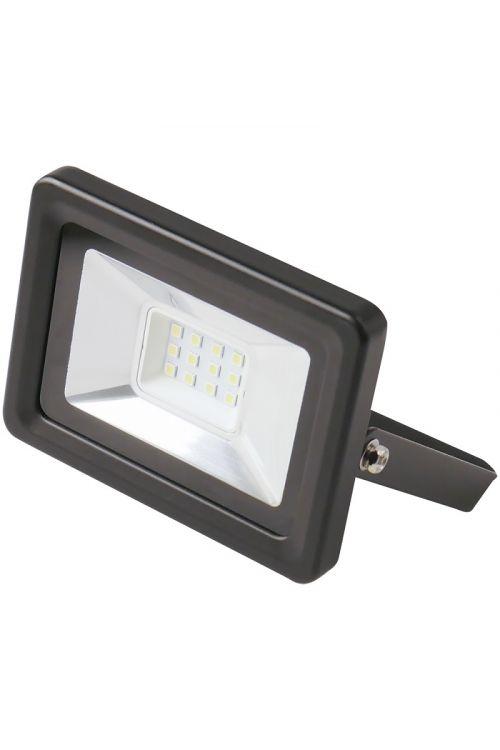 LED reflektor (10 W, IP65, d 6 x š 12 x v 13,6 cm, črne barve)