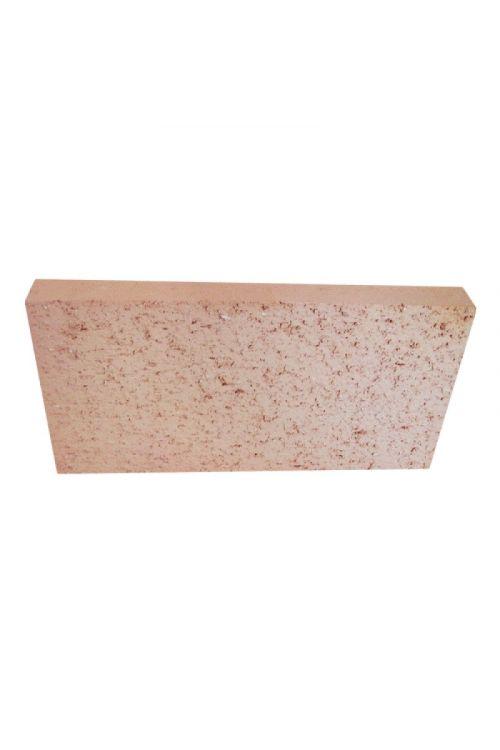 Šamotna opeka (za pečice in kamine, 25 x 12,4 x 2 cm)