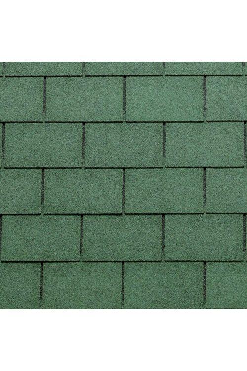 Bitumenska skodla Tegola Canadese (pravokotna, 3,5 m², 24 kosov, zelene barve)