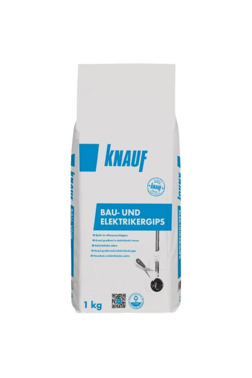 Električarski mavec Knauf (za električne napeljave, 1 kg)