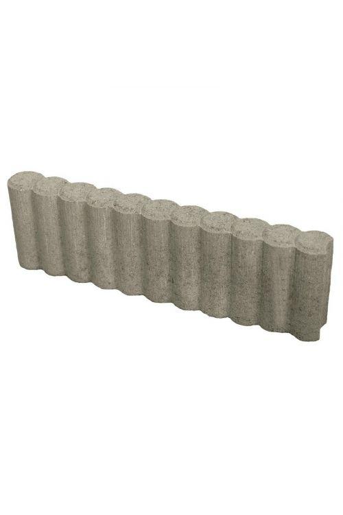 Robnik za palisado (50 x 6 x 25 cm, beton, siv)