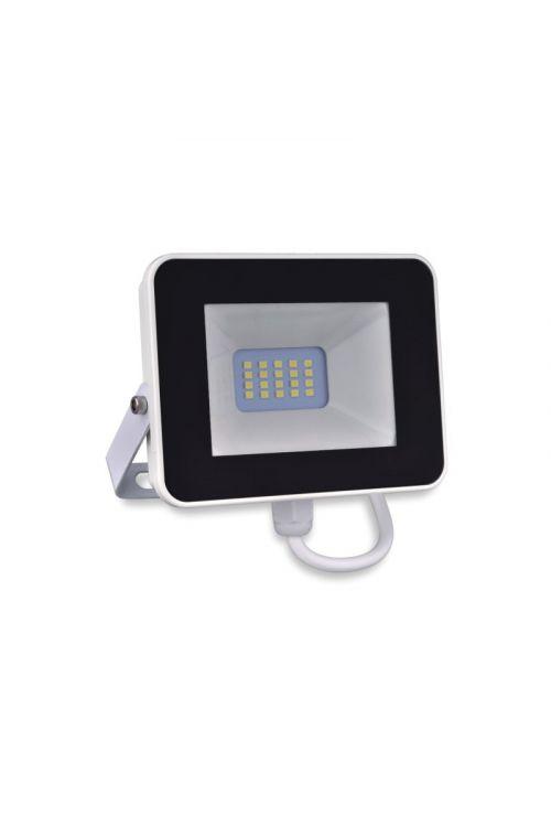LED reflektor Ferotehna (10 W, 900 lm, 4.000 K, IP65, d 3,1 x š 12,8 x v 11,2 cm, črno-beli)