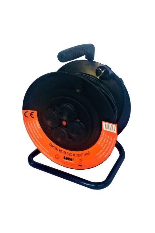 Kabelski boben Euro M KR (20 m, H05VV-3G 1,5, PVC)