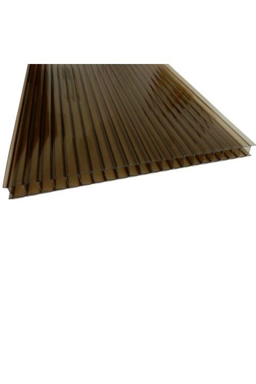 Polikarbonatna plošča Hobby (105 x 200 x 10 mm, UV zaščita)