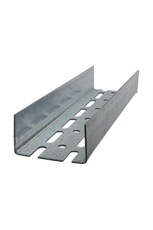 Profil za mavčne plošče UA (75 x 40 x 2,0 mm, 275 cm, jeklo)