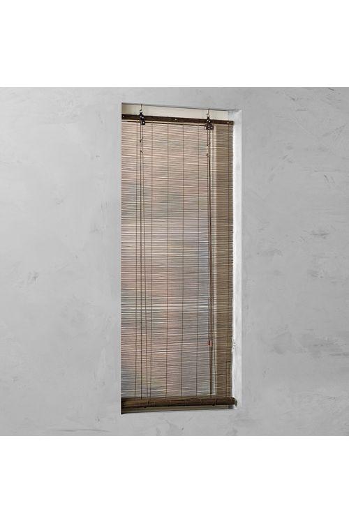 Rolo bambus Basic (140 x 160 cm, rjav)