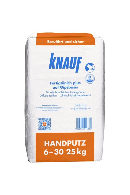 Mavčni omet Knauf (6-30 mm, 25kg)