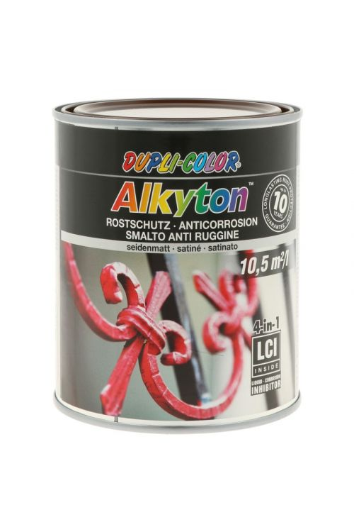 Premaz za kovino DC Alkyton RAL 8017 (čokoladno rjav, satin mat, 750 ml)