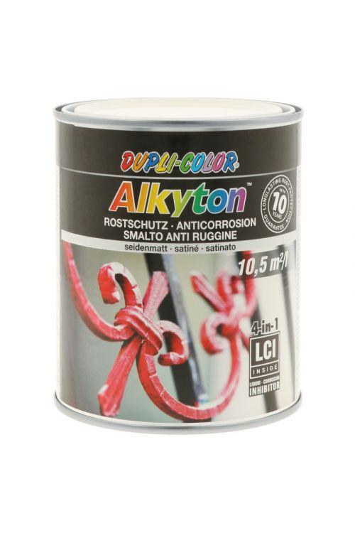 Premaz za kovino DC Alkyton RAL 9010 (bel, satin mat, 750 ml)