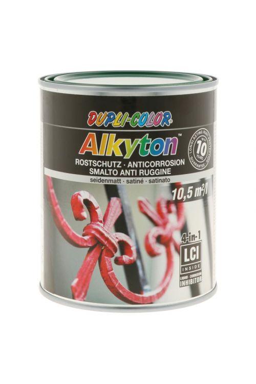 Premaz za kovino DC Alkyton RAL 6005 (barva mahu, satin mat, 750 ml)