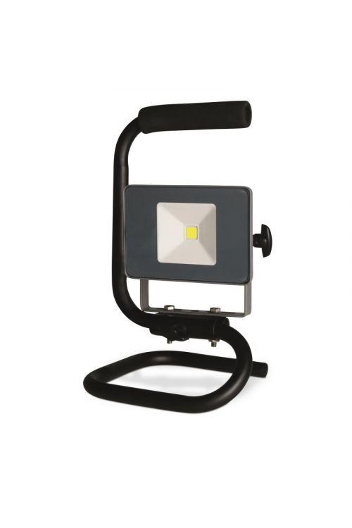 LED reflektor Profi Depot (10 W, 7,5 x 17 x 17,5 cm, 800 lm, črna)