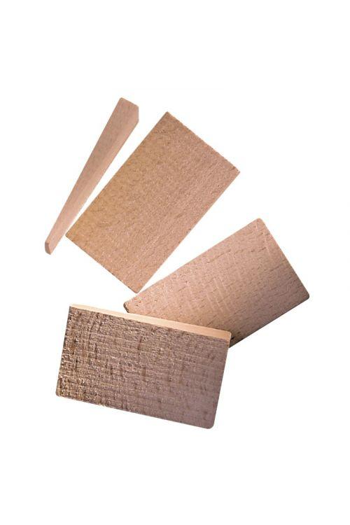 Set lesenih klinov Roro (20 kosov, velikost približno 4,5 x 8,5 cm)