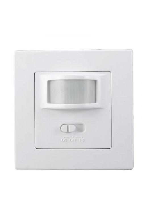 Vgradni senzor gibanja (200 W, IP20, domet 9 m, bele barve)