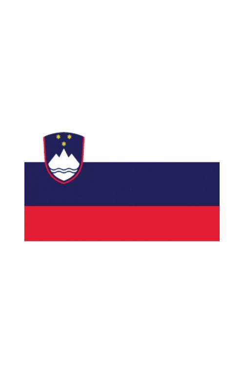 Zastava za čoln Slovenija (30 x 45 cm, poliester)