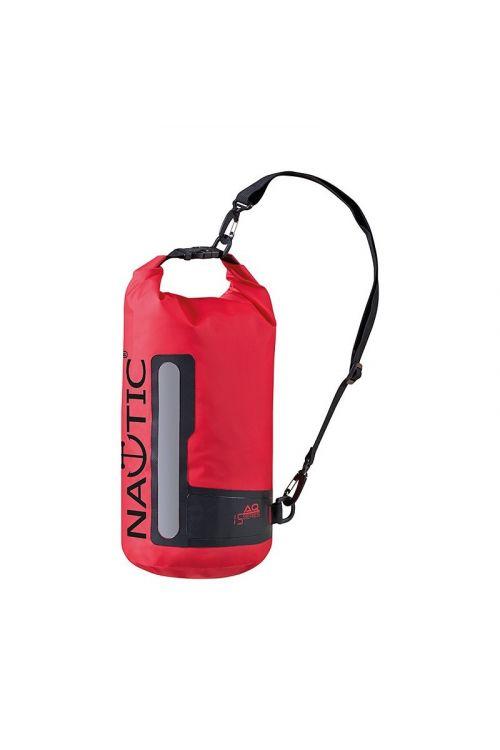 Navtična torba Marinepool Drybag AQ (15 l, 100 % PVC, rdeče barve)