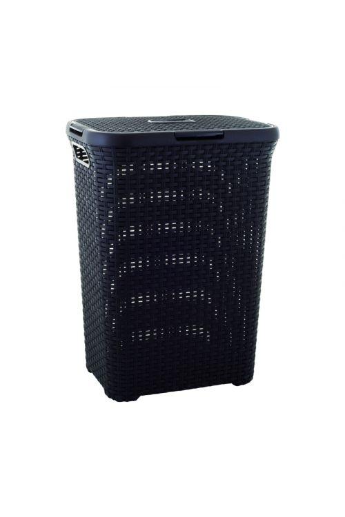 Košara za perilo Keter Deco Ratan (60 l, 34 x 45 x 62 cm, rjava)