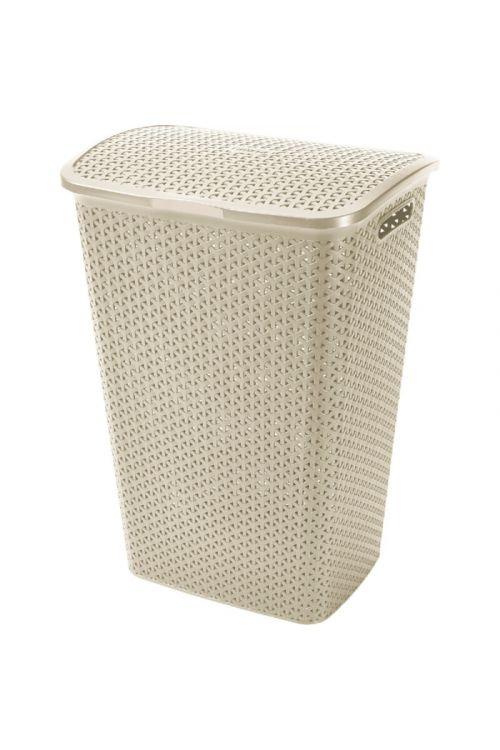 Košara za perilo Keter My Style (55 l, 43 x 33 x 60 cm, bež)