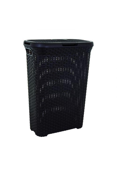 Košara za perilo Keter Style (40 l, 45 x 27 x 62 cm, črna)