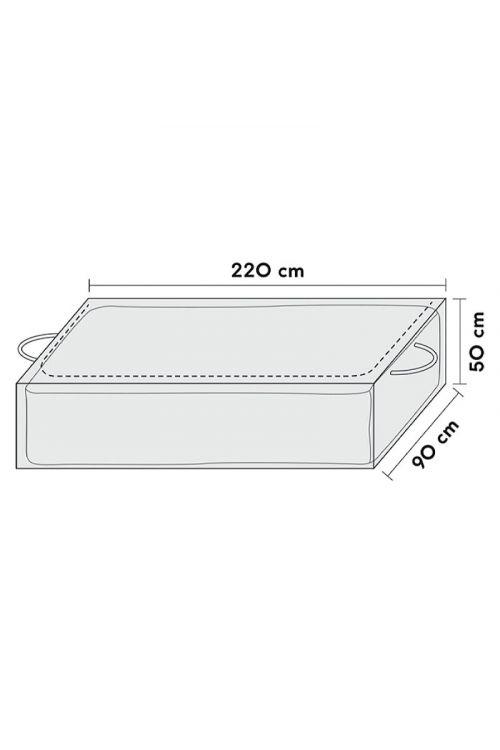 Zaščitna prevleka za blazine Sensum (220 x 90 x 50 cm, poliester)