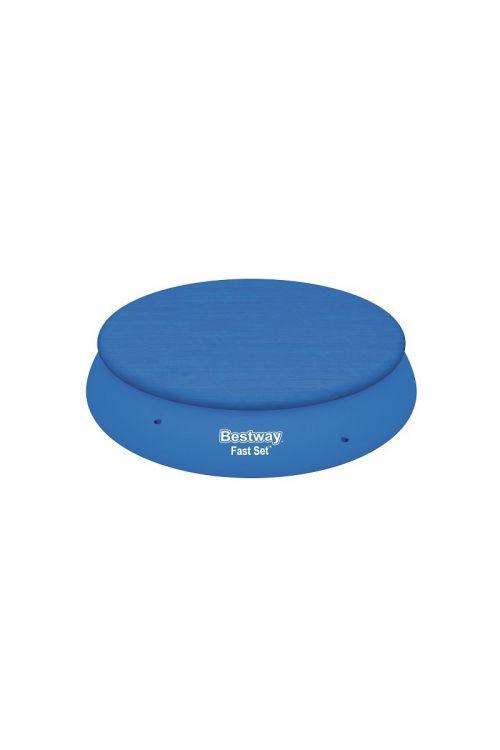 Zaščitna ponjava za bazen Bestway (premer 415 cm, modre barve)