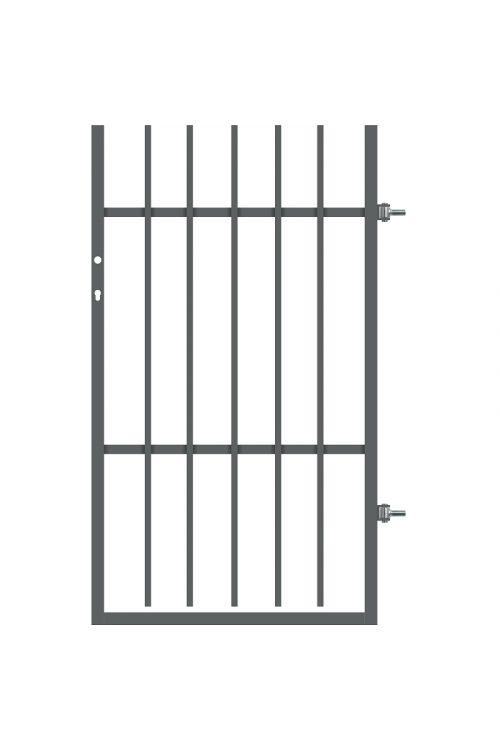 Ograjna vrata Polbram Tom (90 x 150 cm, desna, pocinkana)