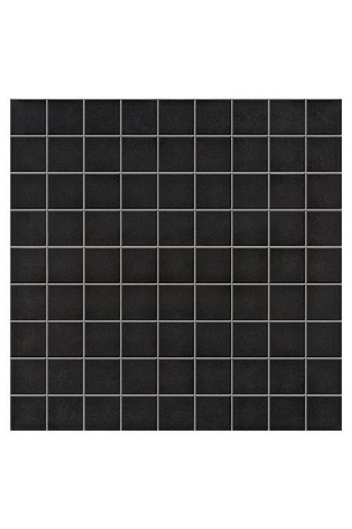 Mozaik ploščice Palazzo Ambient (30 x 30 cm, črna, mat)