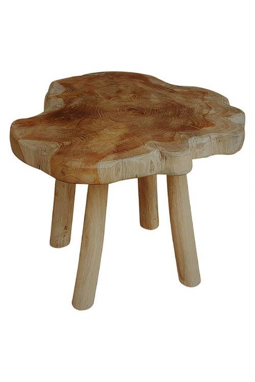 Leseni stolček Sunfun (višina: 40 cm)
