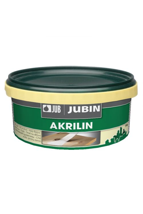 Akrilni kit za les JUB AKRILIN (barva: bela; 750 g)