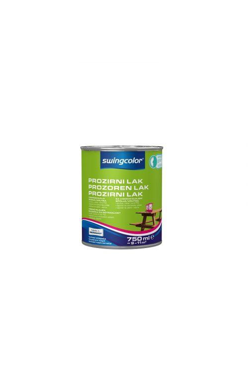 Visokosijajni prozorni lak za les SWINGCOLOR (750 ml)