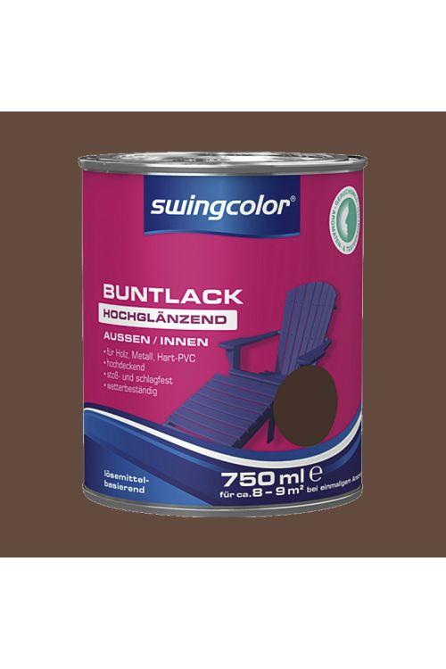 Visokosijoči barvani lak SWINGCOLOR (barva: lešnik;  750 ml)