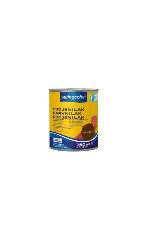Barvni lak SWINGCOLOR (svilenkasto mat; barva: lešnik; 750 ml)