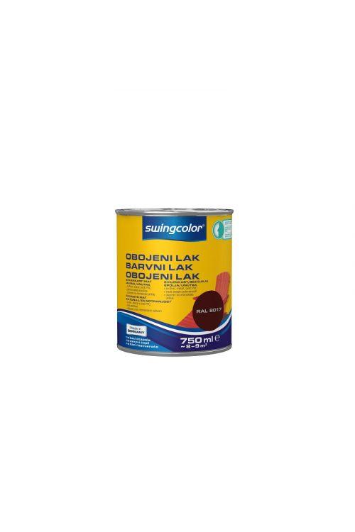 Barvni lak SWINGCOLOR (svilenkasto mat; barva: čokolada; 750 ml)