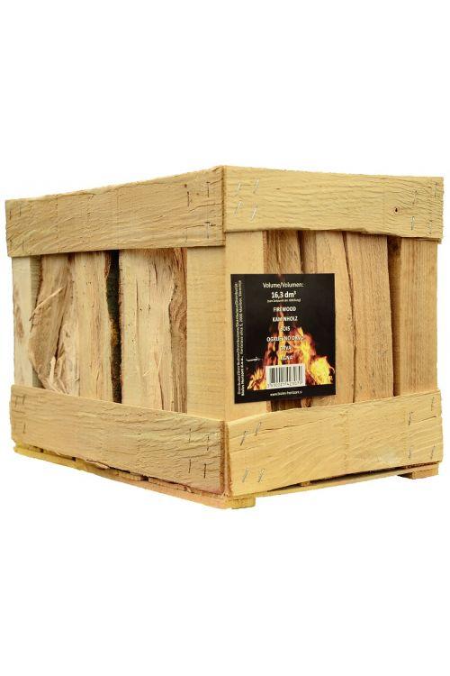 Drva za ogrevanje v lesenem zaboju (bukev, 16,3 dm3)
