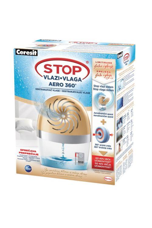 Odstranjevalec vlage Ceresit STOP vlagi AERO 360° LIMITED EDITION (barva: zlata, posebna izdaja)