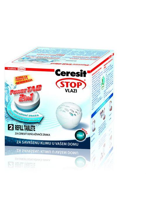 Tablete za odstranjevalec vlage Cresit STOP vlagi MICRO 2 v 1 POWER TAB  (2 x 300 g)