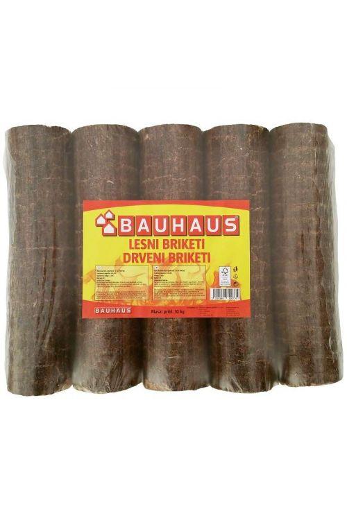 Lesni briketi Bauhaus EXTRA v PVC foliji (10 kg)