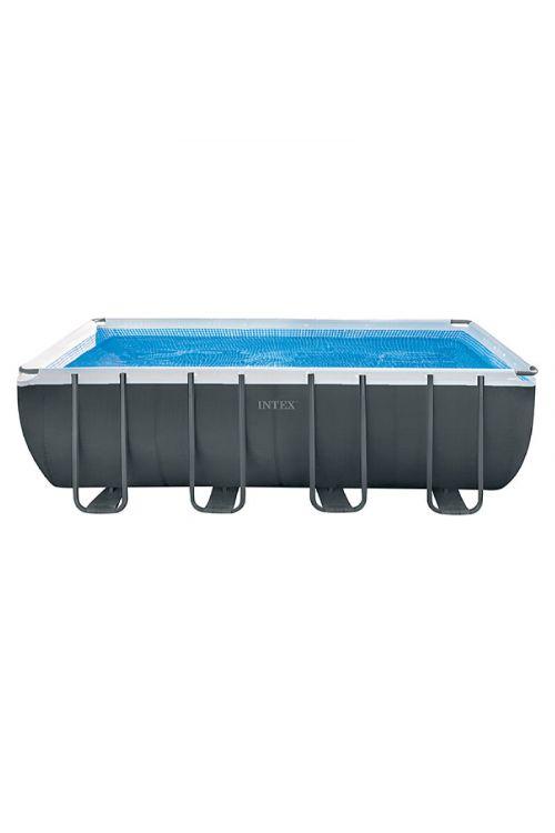 Montažni bazen INTEX Ultra Quadra (549 x 274 x 132 cm, peščeni filter 3,700 l/h, prostornina 17,200 l)