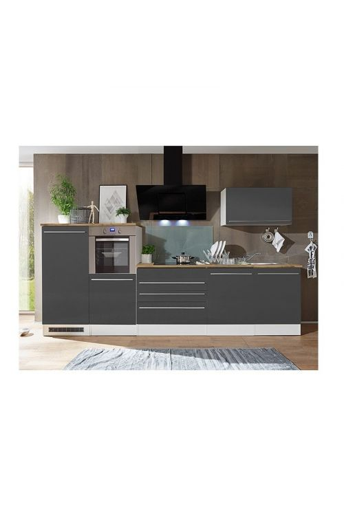Kuhinjski komplet Respekta Premium BERP (320 cm, siv)