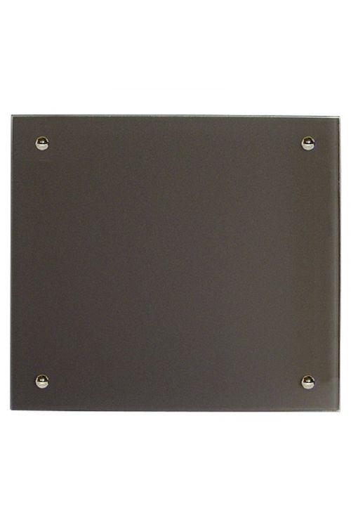 IR stekleni radiator (350 W, 50 x 50 cm, siv)