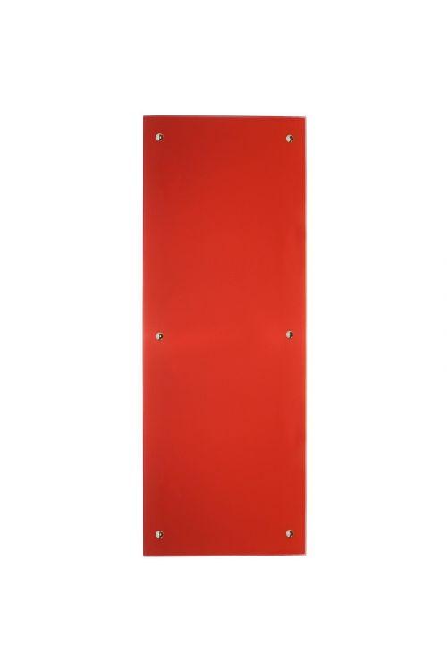 IR stekleni radiator (850 W, 45 x 120 cm, rdeč)