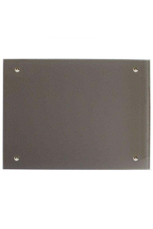 IR stekleni radiator (500 W, 70 x 55 cm, siv)
