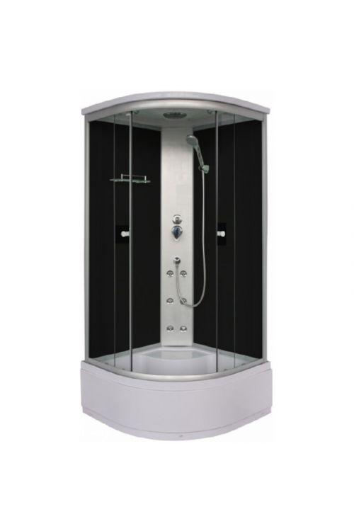 Masažna tuš kabina PC50 (90 x 90 x 210 cm, steklo 4/5 mm)