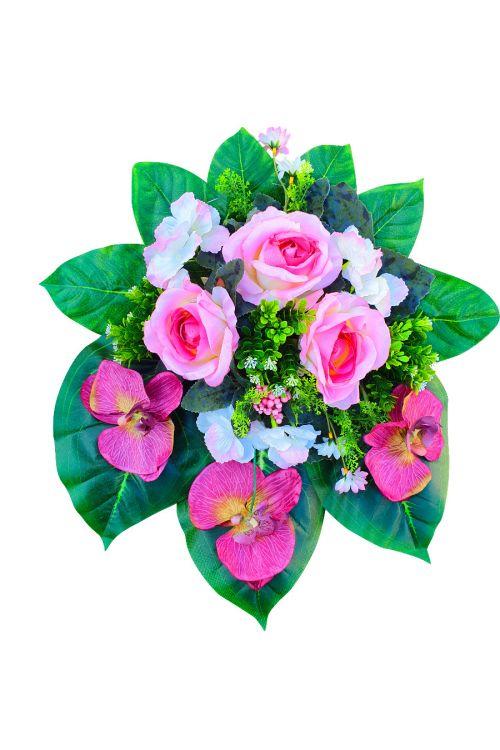 Cvetlični aranžma (umetne rože in drugo rastlinje)