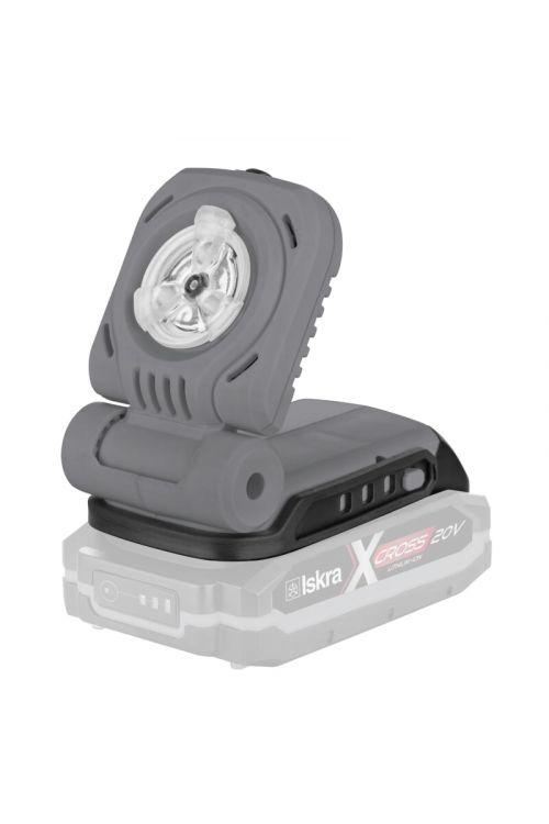 Akumulatorska LED svetilka Iskra X-CROSS IX-FL07 (20 V, brez baterije, 300 lm)